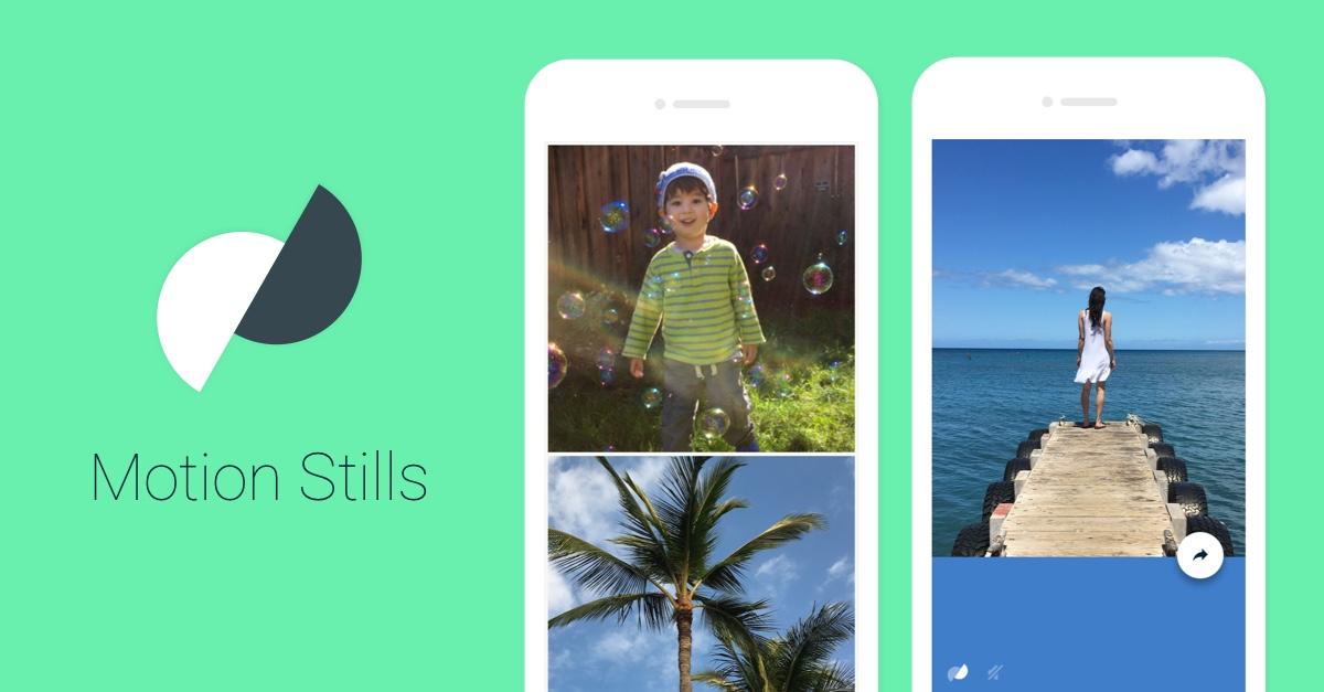 แอป Motion Stills ทำภาพ Live Photo ให้เป็นภาพ GIF