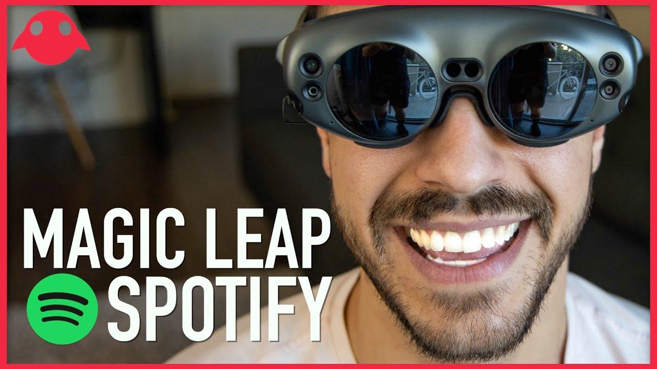 แอปพลิเคชัน Spotify บนแว่นตา Magic Leap