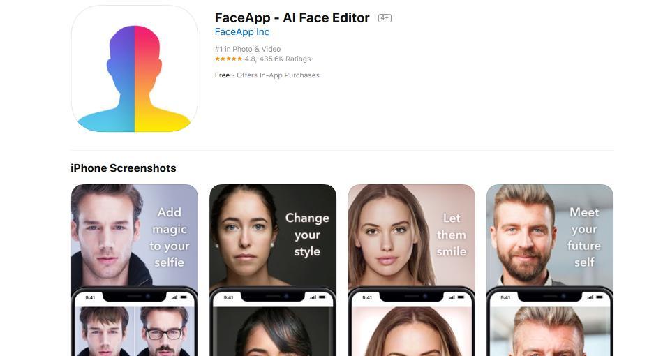 FaceApp แอพลิเคชั่นหน้าแก่ รองรับทั้ง Android และ iOS