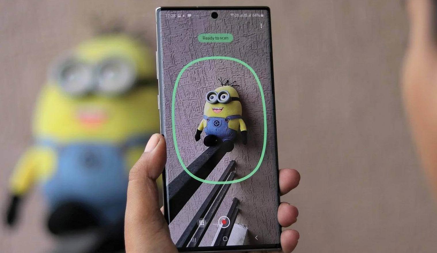 แอปพลิเคชั่น 3D Scanner สำหรับ Galaxy Note10+