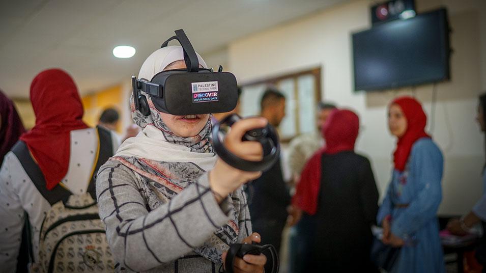 VR Palestine แอปพลิเคชั่นพาชมดินแดนสงคราม
