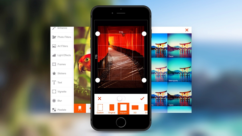 แอปแต่งรูป Fine – Photo Editor แจกฟรี iPhone, iPad โหลดด่วน